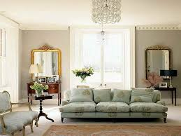 Pretty Living Room Pretty Living Room Furnished With Upholstered Furniture And Using