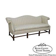 Chippendale Style Mahogany Frame Sofa By Southwood Camelback Sofas For Sale S98