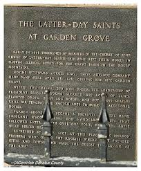 by april 25th the mormons reached a spot approximately halfway across iowa and 144 miles west of nauvoo they named this spot garden grove