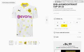 Dortmund.broken down into its constituent parts the name means. Borussia Dortmund 20 22 Cup Away Kit Released Footy Headlines