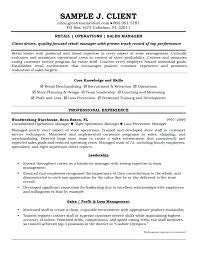 Loss Prevention Manager Job Description Resume