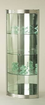 Living Room Display Cabinets Glass Corner Curio Display Cabinet Roselawnlutheran