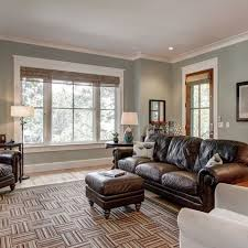 The Living Room Wall Color Is Sherwin Williams Contented Window Simple Wall Painting Living Room