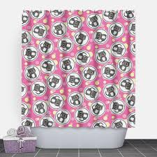 pink and yellow shower curtain. pink and yellow shower curtain