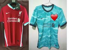 Liverpool nike 2020/21 women's away replica jersey. New Kit Leaks For 2020 21 Liverpool Spurs Arsenal Man Utd And More Planet Football