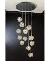 trend lighting tp snow  inch wide  light multi pendant