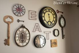 deluxe giant wooden target small hobby lobby red rustic round ridge clock gallery wall house wall
