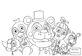 Fnaf 2 Coloring Pages At Getdrawingscom Free For Personal Use