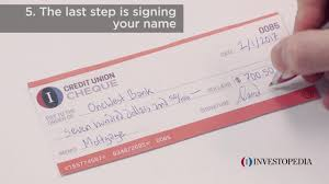 How To Write A Check In 5 Easy Steps