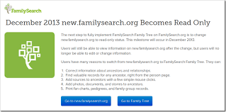 The Ancestry Insider New Familysearch Retires In December