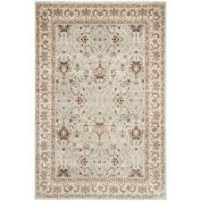 safavieh persian garden light blue ivory 5 ft x 8 ft area rug