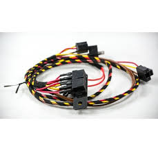 volkswagen vw t uprated headlight loom transporter wiring harness t4 short nose uprated headlight loom harness