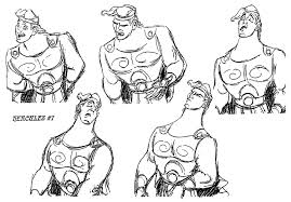 Living Lines Library Hercules Model Sheets