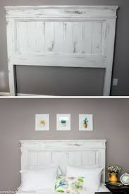 Cheap Diy Headboards Best 20 Refinished Headboard Ideas On Pinterest Headboard Redo