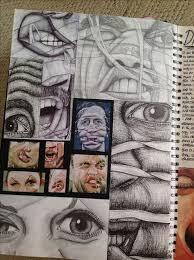 gcse art book background ideas 715 best sketchbooks images on
