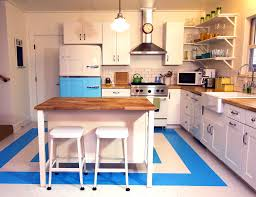 bathroom foxy retro kitchen kitchens blue new melbourne modern