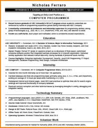resume sample for computer programmer how to make a computer  programming resume examples writing a visual analysis essay real