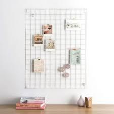 Modern Memo Board Block Wire Mesh Memo Board White Gifts for your home 14