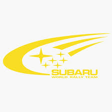subaru rally logo.  Rally Subaru World Rally WRC Team Logo  On U