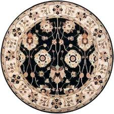 9 foot round area rugs fantastic 9 ft round rug john black 9 ft 9 in