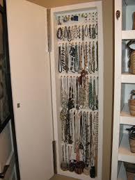 Hanging Necklace Organizer Wall Jewelry Storage Solar Design