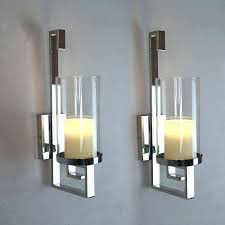 wall sconce candle gold