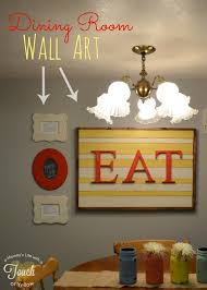 diy wall art for dining room