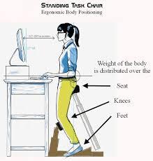 best 25 standing desk chair ideas on standing desk height standing desks and diy standing desk