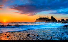 hd beach widescreen backgrounds. Perfect Widescreen Sunset Beach Wallpaper HD Widescreen Throughout Hd Backgrounds