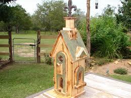 Rustic Birdhouses Rustic Wood Burned Tuscan Style Bird House