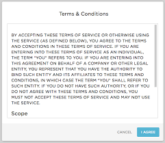 terms and conditions onelogin help center