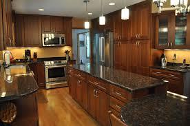 kitchen remodel oak cabinets beautiful cherry oak wood with black granite countertops gorgeous kitchen