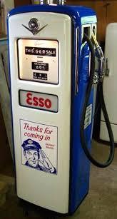 gilbarco gas pump. gilbarco esso pump gas e
