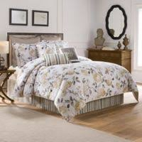 Image Grey Colonial Williamsburg Eve Reversible King Comforter Set In Greyyellow Bed Bath Beyond Buy Yellow Grey Comforter Bed Bath Beyond