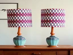 Patterned Lampshades Fascinating Patterned Lamp Shade Stylish Shades Awesome Idea For With Regard To