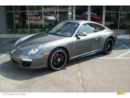 2012 Meteor Grey Metallic Porsche 911 Carrera GTS Coupe #53364510 ...