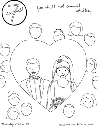 Upload, livestream, and create your own videos, all in hd. 7th Commandment Coloring Page Not Commit Adultery