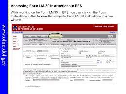 dol 4 form office of labor management standards olms ppt video online download
