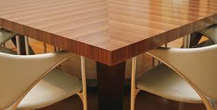 modern solid wood table craftsmanship