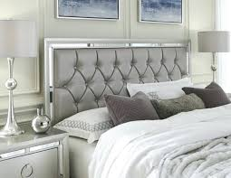 White Tufted King Bed Small Images Of Upholstered King Bedroom Set ...