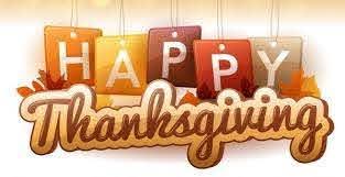 Closed – November 22-23, 2018 (Thanksgiving)