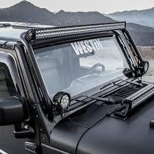 Jeep Tj 50 Light Bar Mount New Product Announcement Westins Snyper Overhead Led Light