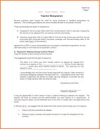 Letter Of Resignation Teacher 24 Letter Of Resignation Teacher Marital Settlements Information 14