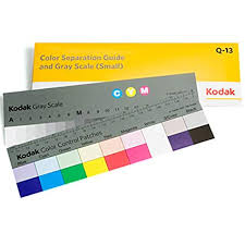 Buy Kodak Color Separation Guide And Gray Scale Small Size