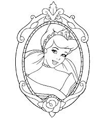 cartoon disney princesses coloring