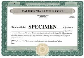 Ideas Of Stock Certificate Template Free On Stock Certificate