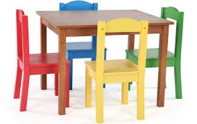chair chairs sets solid unfinished dark wood childs child table first plan round kid and woodworking