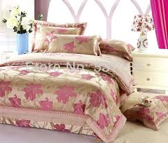 gold duvet covers queen whole pink flowers gold bedding sets luxury bed duvet quilt black and
