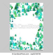 Christmas Design Template Seasonal Christmas Design Page Template Blank Winter Holiday