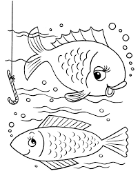 color book pages color book printable free printable fish coloring pages for kids ideas